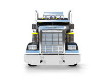 Isolated big car front view 04 Royalty Free Stock Image