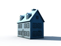 Isolated big house Stock Photo