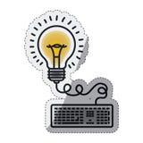 Isolated big idea draw design Stock Photos