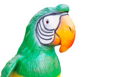 Isolated Big Parrot Stock Photography