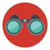 Isolated binocular design. Binocular object icon. Vision vector equipment and travel theme. Isolated design. Vector illustration vector illustration