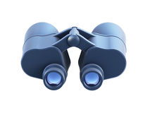 Isolated binoculars 3d render Stock Images
