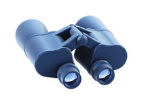 Isolated binoculars 3d render Stock Image