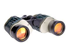 Isolated Binoculars stock photos