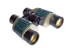 Isolated Binoculars royalty free stock photos