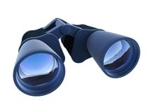 Isolated binoculars Royalty Free Stock Image