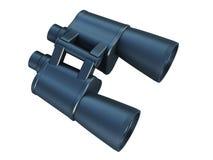 Isolated binoculars Stock Image