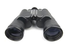 Isolated binoculars Royalty Free Stock Photography