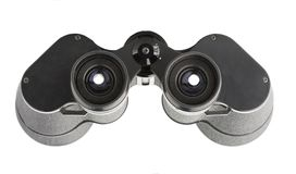 Isolated binoculars with money Stock Photography