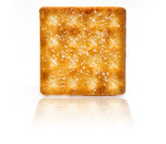 Isolated biscuit Stock Image