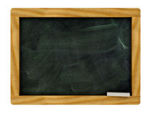 Isolated black board Royalty Free Stock Images