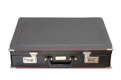 Isolated black briefcase Stock Photos