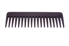 Isolated black comb Stock Image