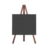 Isolated blackboard, sign or signboard Stock Photography