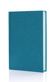 Isolated blank blue hardback book Stock Photography