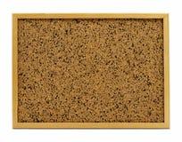 Isolated blank corkboard Stock Photography