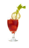 Isolated Bloody Mary Royalty Free Stock Photo