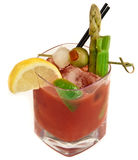 Isolated Bloody Mary Royalty Free Stock Image