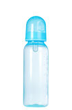 Isolated Blue baby bottle Stock Photography