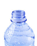 Isolated Blue Water Bottle Stock Image