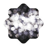 Isolated blurred figure design. Blurred figure icon. Abstract motion soft blur and light theme. Vector illustration Royalty Free Stock Images