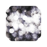 Isolated blurred figure design. Blurred figure icon. Abstract motion soft blur and light theme. Vector illustration Stock Photos