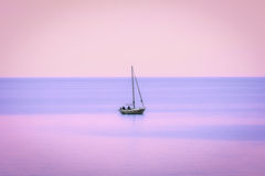 Isolated boat Stock Photography
