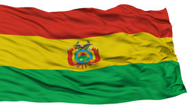 Isolated Bolivia Flag Royalty Free Stock Images