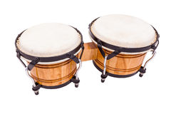 Isolated Bongos Royalty Free Stock Photography