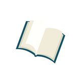 Isolated book open. Icon  illustration graphic design Stock Photos