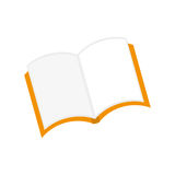 Isolated book open. Icon  illustration graphic design Royalty Free Stock Photography