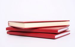 Isolated books Royalty Free Stock Photography