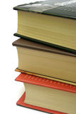 Isolated books Stock Images