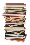 Isolated books Royalty Free Stock Photo