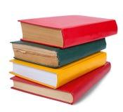 Isolated  books on white Royalty Free Stock Image