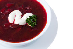 Isolated borsch Royalty Free Stock Image