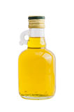 Isolated bottle of rice bran oil Royalty Free Stock Image