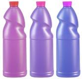 Isolated bottles. Stock Photos