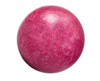 Isolated bowling ball stock photography
