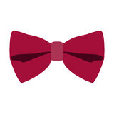 Isolated bowtie icon. On a white background, Vector illustration Stock Image