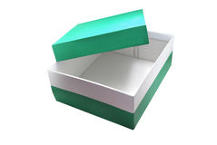 Isolated box Royalty Free Stock Image