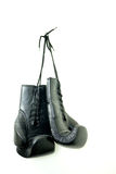 Isolated Boxing Gloves Stock Photo