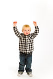 Isolated Boy Portraits Royalty Free Stock Image