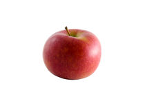 Isolated Braeburn apple with clipping path Stock Photos