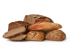 Isolated bread Stock Image