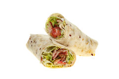 Isolated bread wraps Stock Image