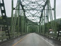 Isolated bridge Royalty Free Stock Photography