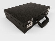Isolated Briefcase on white Stock Photography