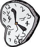 Isolated Broken Clock Royalty Free Stock Photos