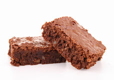 Isolated brownie Royalty Free Stock Photo